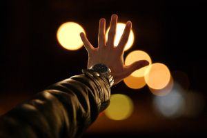 Reaching for the lights by 6Dav1d6