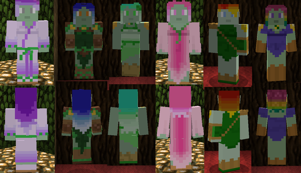 Legion Minecraft Skins (Collection 3) by Nero-The-Lime