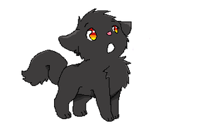 .:Puppy Adoptable - Smokey ONLY 5 POINTS:. ~OPEN~ by GloriousCraftsxoxo