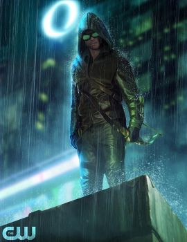 Arrow (with goggles) #1 by Finelly