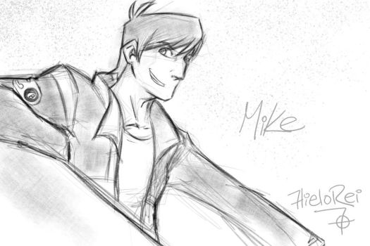 Motorcity | Mike Sketch by hielorei