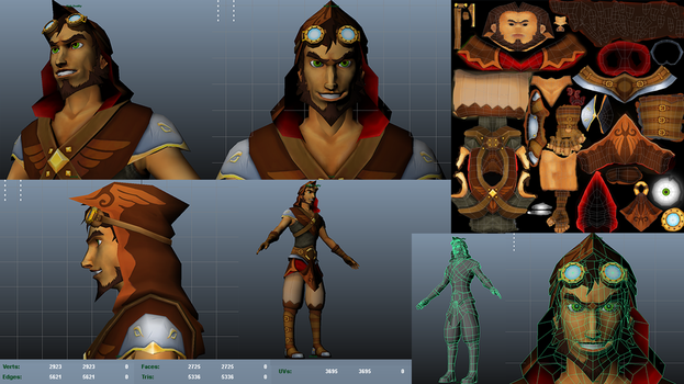 Project-TP character model by ledious