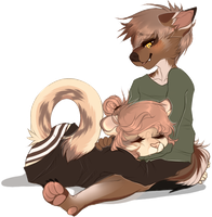 [g] Catnaps and cozy sweaters, by Aoifhe