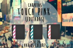 touch pink  editado :D by Analaurasam