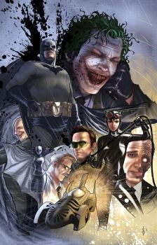 BATMAN and CREW by benttibisson