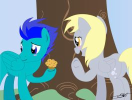 S7 and Derpy (Commission) by LightDragon87