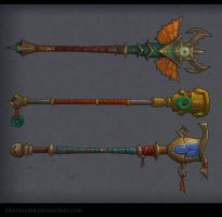 Staves Mop by FirstKeeper