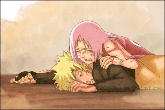 narusaku . dont. leave. M E. by innera
