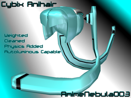 Cybix Anihair - AN003 by AnimeNebula003