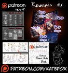 Patreon rewards #1 by Kate-FoX