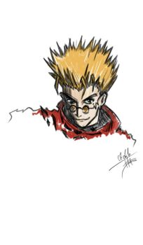 Vash the Stampede by Himuras