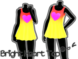 Bright Heart Top DL by JuuRenka