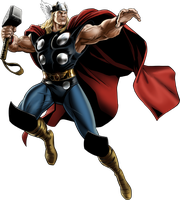 Marvel Avengers Alliance Thor Classic by ratatrampa87