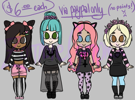 ..::ADOPTABLES 02::.. {OPEN} by ZombieComplex
