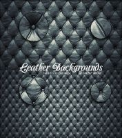 Leather Backgrounds by VectorMediaGR