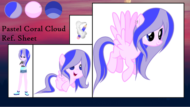 ||MLP Pastel New Style and Ref. Sheet|| by FLuffy-MLP