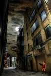 Raccoon City Alley Way by Blueracer66