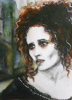 Burton's Mrs. Lovett by ArtLucie