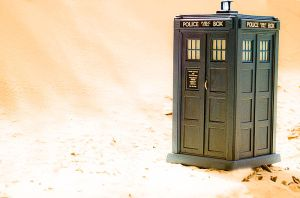 The TARDIS Has Landed by Batced