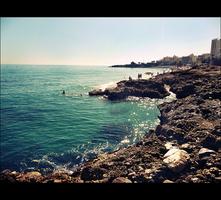 Nerja Beach by snarto