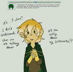 Ask Kronan: 3 markings by TheLittlehoneybee