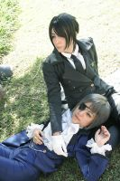 Sebastian and Ciel by Annechan-Mana-