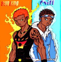 UrbanWarriors: Sun King-Chill2 by TreStyles