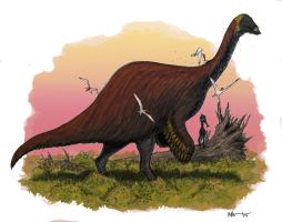 Deinocheirus by Ashere