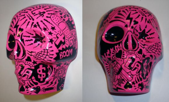 Sugar Skull set 2 by luther1000