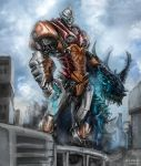 Pacific Rim - Jet Jaguar by Diovega