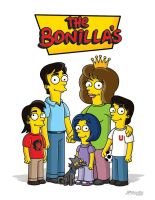 Simpsons Bonilla by JPBonilla