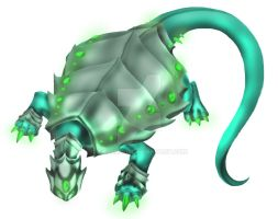 Emerald Dragon Turtle by AquaMind