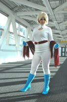 Power Girl In A Sweater by Red-Ribbon-Cosplay