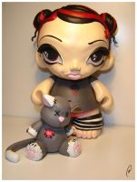 Lola and Mister Kitty 1 by Flame-Ivy