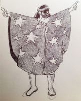 Randy Savage Doodle by gordonholmes