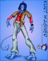 Kurt Wagner AKA Nightcrawler by StephRatte