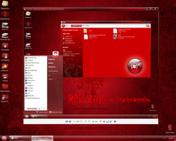 My RED Theme Update by FrankenBerries