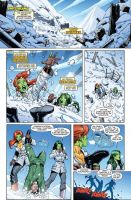 She-Hulks issue 4 page 1 by RyanStegman