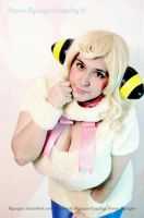 Fluffy the Mareep- Pokemon Gijinka by Nyuugao