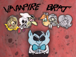 Vampire Brat title card by Granitoons