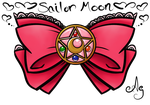 Sailor Moon bow by Miss-Ag