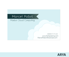 Marcel Pabset - Business Card by AryaInk