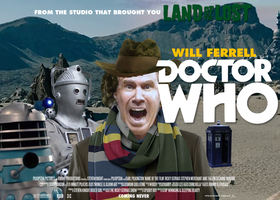 Will Ferrell as Doctor Who by Jarvisrama99