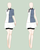 .:Hyotei Girls Team Uniform:. by SwordOfTheFlame12