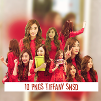 10 PNGs TIFFANY SNSD by jely112