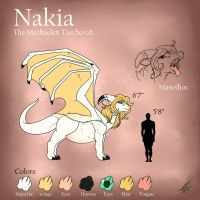 Nakia reference sheet by ShikkaTL