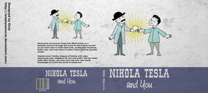 Nikola Tesla and you book cover by emptysamurai