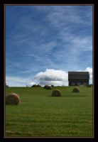 Drying Clothes and Drying Hay by BobVPR