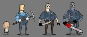 Chronology Of Jason Voorhees by kungfumonkey