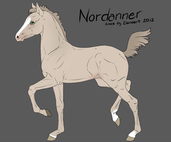 #3836 Nordanner Foal by RW-Nordanners